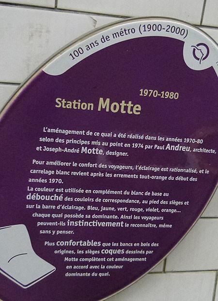 station MOTTE
