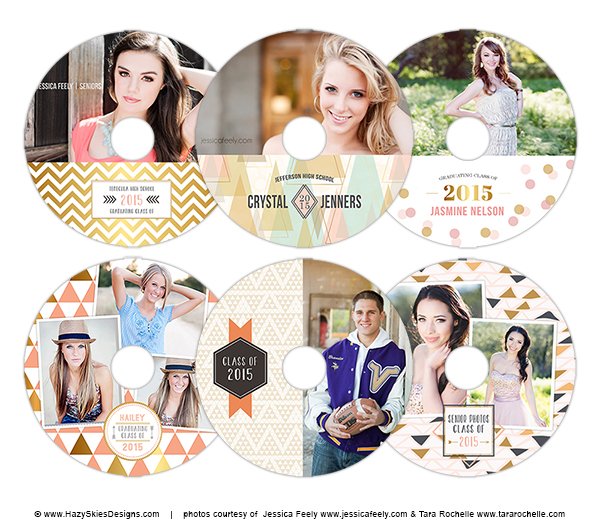 Senior CD/DVD Templates Just Added! – Photoshop Templates for ...
