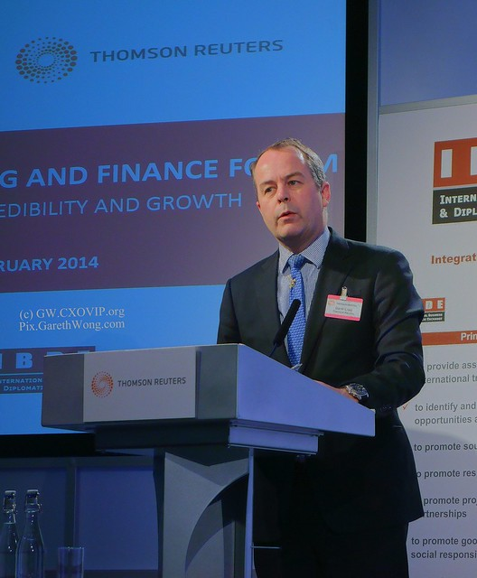 David Craig President Financial & Risk Thomson Reuters @davidwicraig from RAW _DSC4776