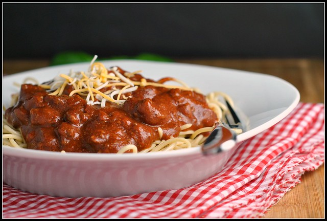 Crock Pot Cincinnati-Style Chili 4