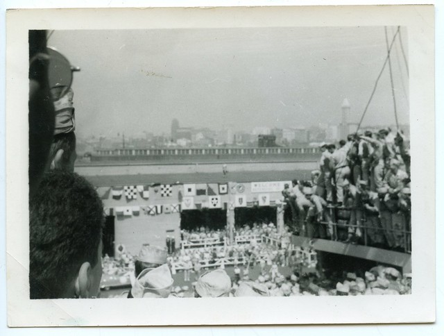 "Korean War Vets ""Dock at Seattle"", Seattle, 1951 (6 of 7)"