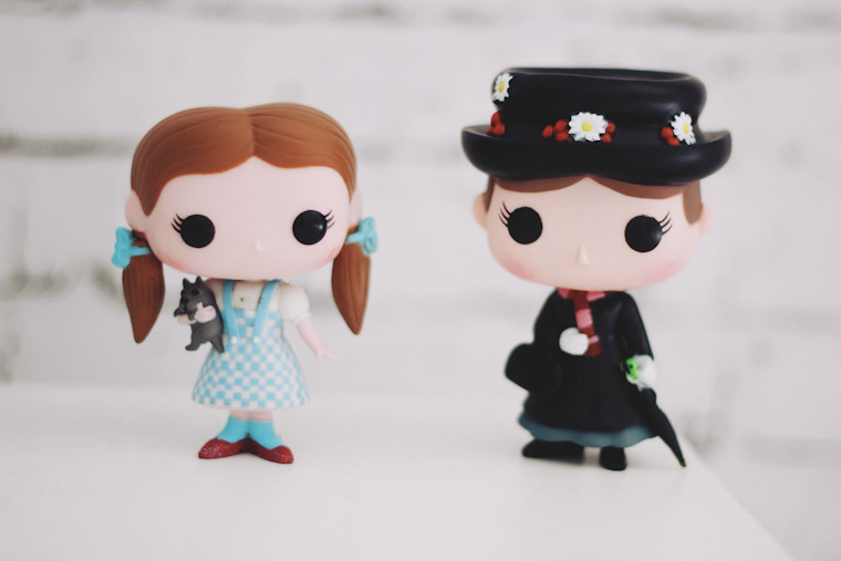 New Toys Mary Poppins E Dorothy Serendipity