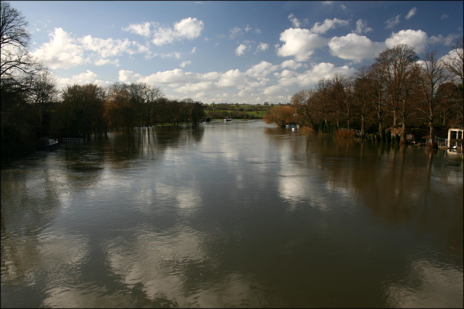 View from Cookham Bridge