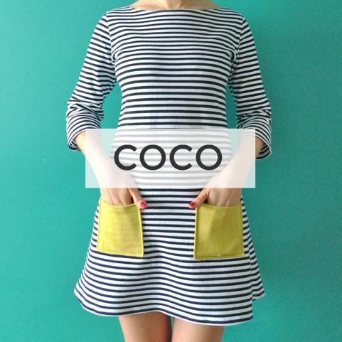 COCO TOP + DRESS