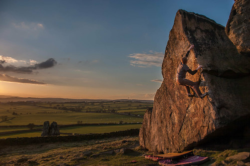sunset england sky rock clouds grit evening rocks exposure yorkshire climbing bouldering almscliff