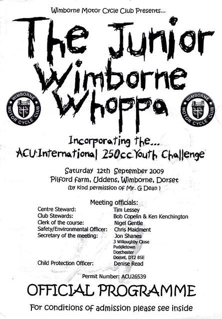 Wimborne 12-9-09
