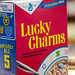 Small photo of Lucky Charms cereal - Vintage cereal box