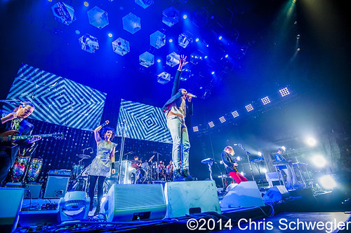 Arcade Fire – 03-10-14 – Reflektor Tour 2014, The Palace Of Auburn Hills, Auburn Hills, MI