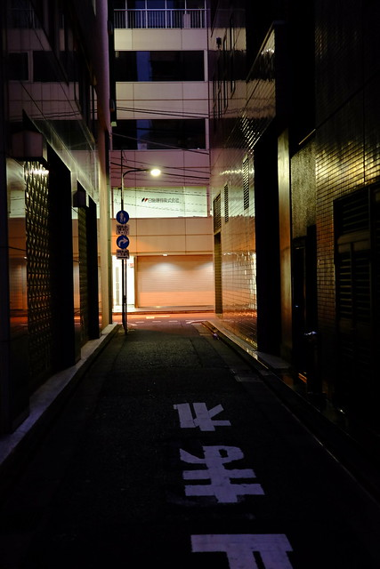 twilight alleyway