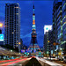 Tokyo Tower With Traffic by Stefan Bock