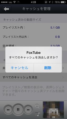 FoxTube確認