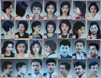list of 28 state-approved hairstyles by Kim Jong Un in North Korea