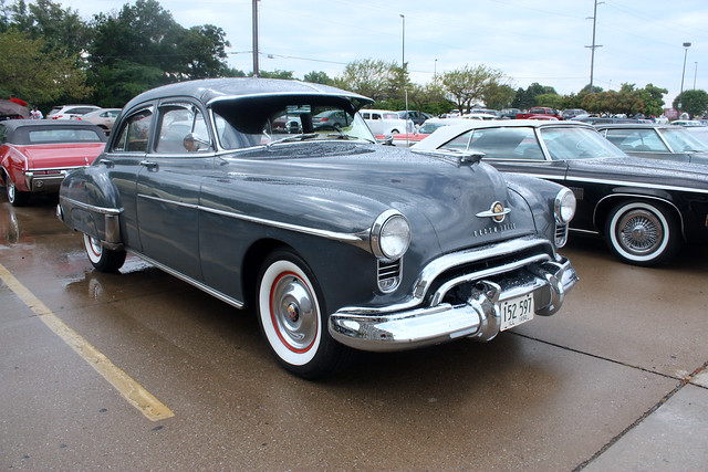 1950 oldsmobile futuramic 88 4 door sedan 3 of 5