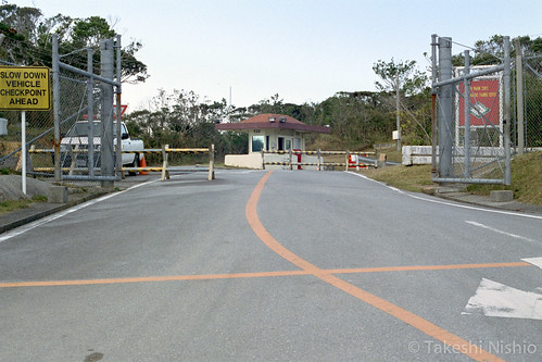 北部訓練場メインゲート / North training yard's main gate