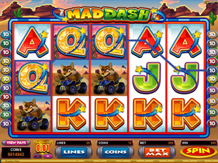 Mad Dash Slot Machine