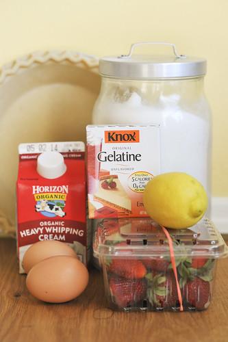 Strawberry Chiffon Ingredients