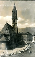 postcard - bolzano - duomo - 1964