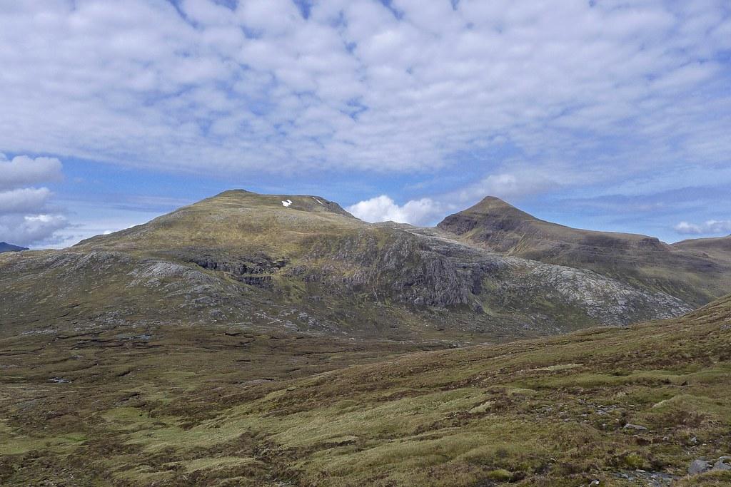 A' Mhaighdean and Ruadh Stac Mor