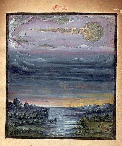 010-Scutella-Kometenbuch -1587-Universitätsbibliothek Kassel