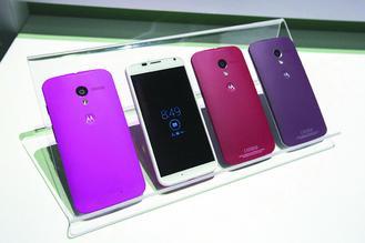 摩托羅拉行動公司的智慧手機銷量欠佳。