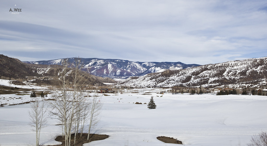 Views along the way to Snowmass Village