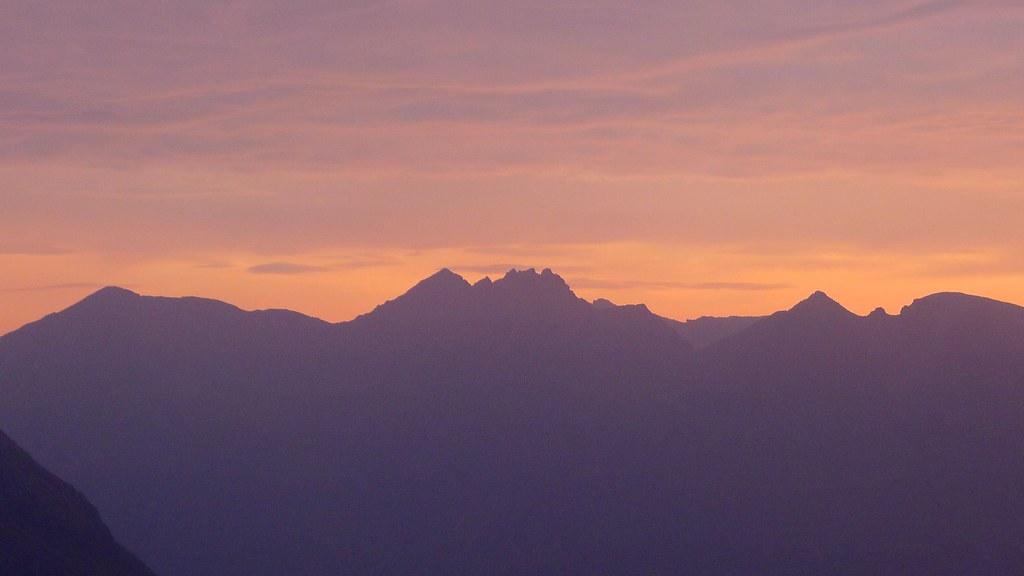 An Teallach at sunrise