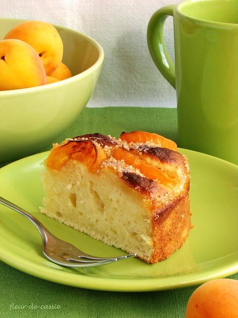 пирог с рикоттой и абрикосами 2
