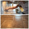 Day 183: Today's Goal: Learning to Re-Grout. #success