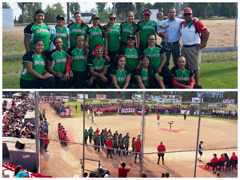 Participación mexicana en el Torneo Canadian Open Fastpitch International Championship2015, Vancouver