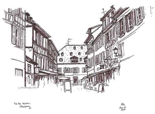 Rue des Moulins, Strasbourg