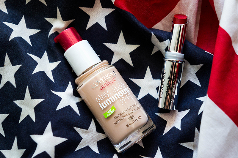 COVERGIRL-Outlast Foundation-and-Lipstick-Products