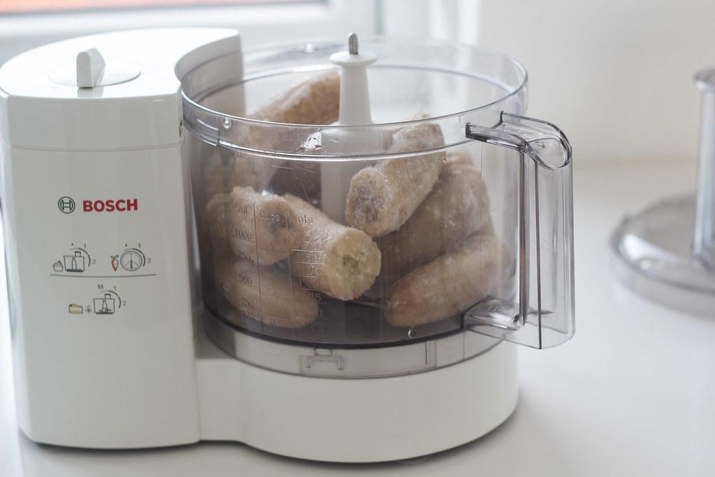 Opskrift på hjemmelavet sund bananis