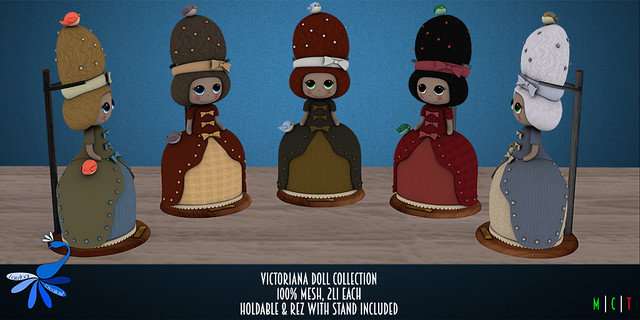 ZcZ Victoriana Doll Collection