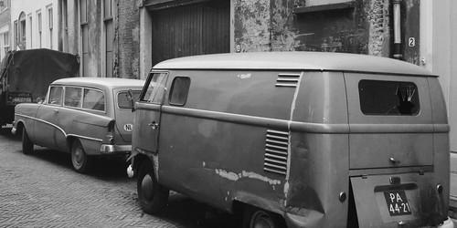 PA-44-21 Volkswagen Transporter bestelwagen 1955