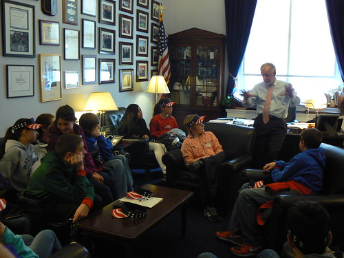 Students from Mattituck-Cutchogue Middle School