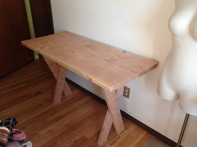 DIY • How to Build a Farm Table for Less Than $50.