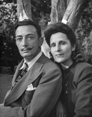 life: Happy birthday, Salvador Dali. Pictured: Salvador Dali...