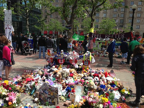 Boston Marathon attack memorial