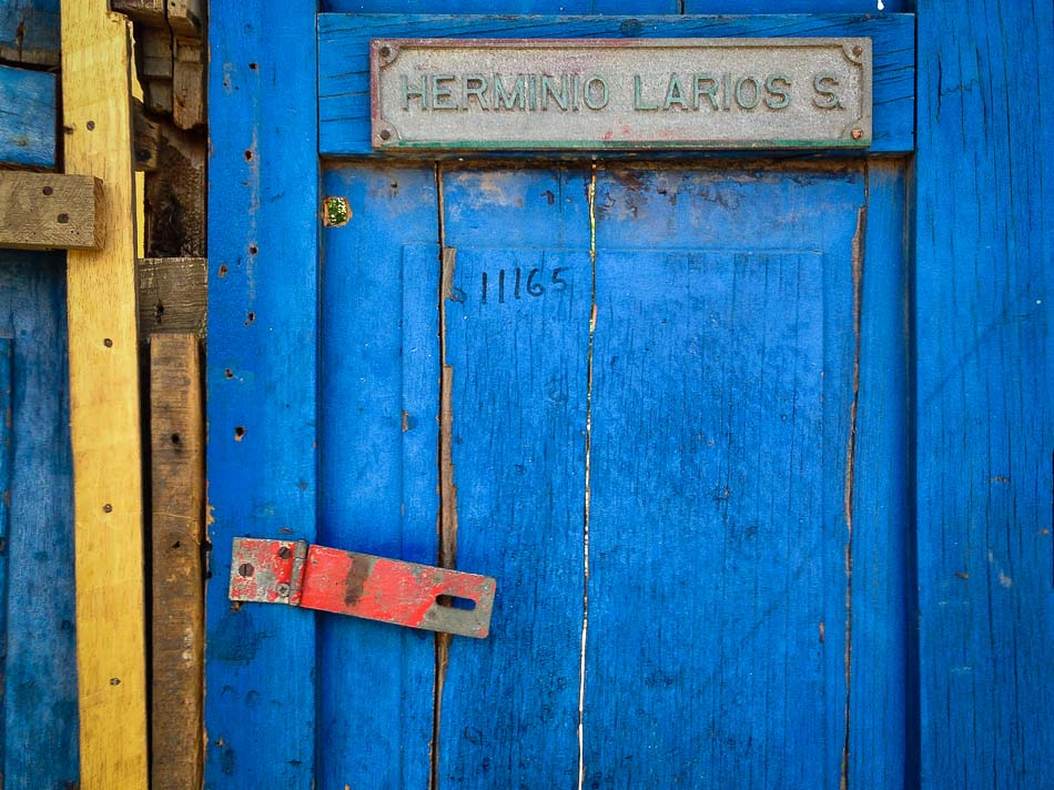 Travel Photo of the Week: Colorful Weathered Door in Leon, Nicaragua