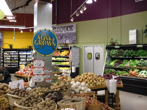 From potatoes to lettuce, fresh Alaskan-grown produce will be made available in the new store. Photos by Jane Gibson, USDA.