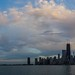 Chicago Skyline Sunset by Joshua Mellin