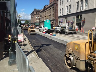 Replacing Jackson St. Between 1st & Occidental Avenues