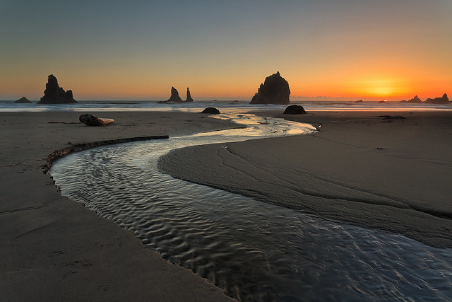 Oregon Coast Sunset
