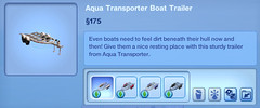 Aqua Transporter Boat Trailer
