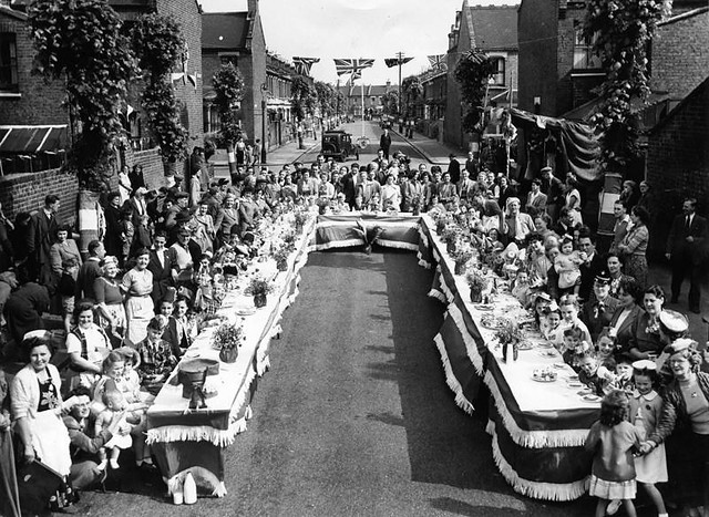 1953coronationstreetparty