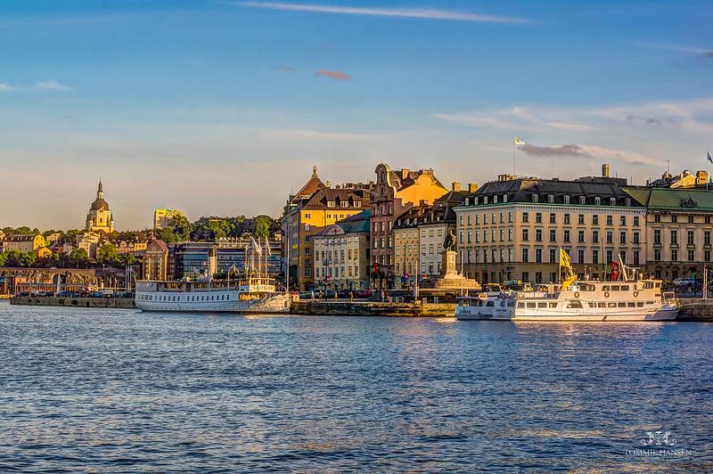 Ships at Gamla stan, Stockholm