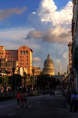 El Capitolio as seen from El Paseo del Prado/Malecón