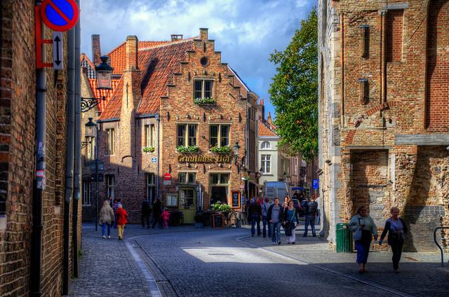 Bruges street view