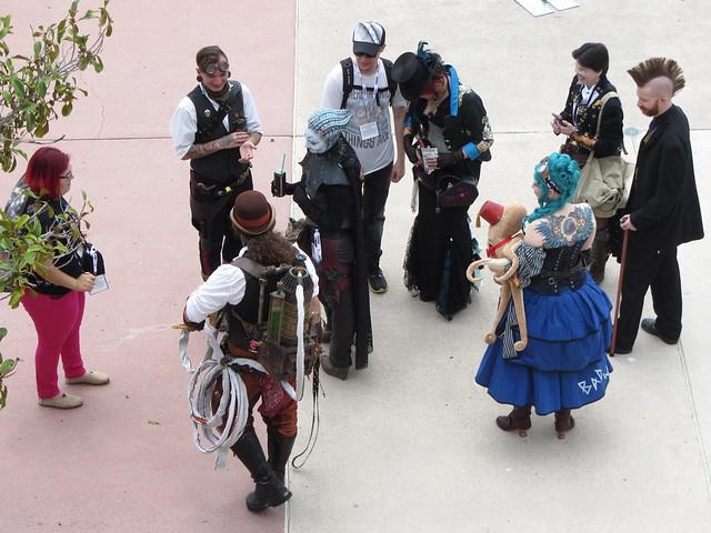 steampunk meetup