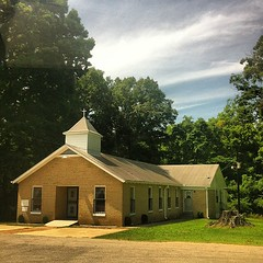 It was a perfect day to drive with Mom to Jamestown community in Tipton County. There's nothing like cruising through those curvy roads and sightseeing. Definitely had to capture Bright Hill MB Church where I sat on the mourning bench at 7 years old and w